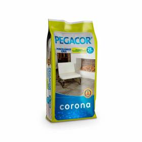 Pegacor Porcelánico Gris De 25 Kilos Corona - 1