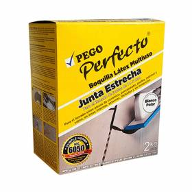 Boquilla Perfecto Junta Estrecha Blanco Polar  X 2KG Pego perfecto - 1