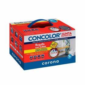 Concolor Junta Estrecha Antihongos Super Blanco Corona - 1