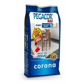 Pegacor Porcelanato Max Blanco De 25 kilos Corona - 1
