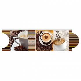 Listello Amaretto Café 8X25 Corona - 1