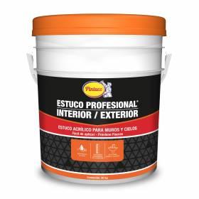 Estuco Profesional Interior / Exterior en  Blanco Pintuco - 2