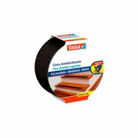 Cinta antideslizante ferretería negra 25mm Tesa - 1