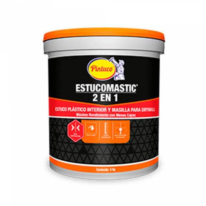 Estucomastic Blanco Pintuco - 4