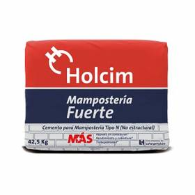 Cemento Gris Mampostería Holcim 42.5KG Holcim - 1